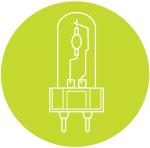 Compacte HID lampen
